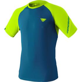Dynafit Alpine Pro T-Shirt Heren, blauw/geel
